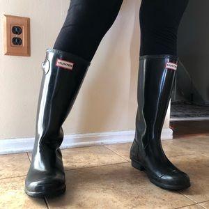 Black Hunter Women's Original Rain Boots